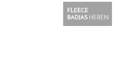 fleece badjas heren