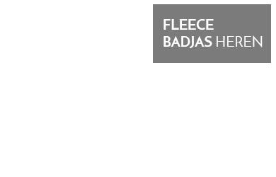 fleece badjas heren